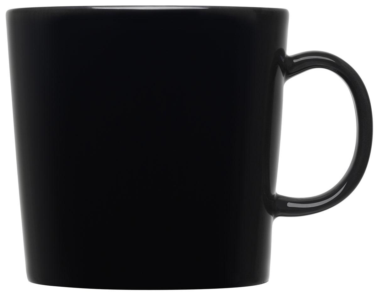 Кружка Iittala Teema, цвет: черный, 400 мл1005517Кружка Iittala выполнена из качественного жароустойчивого прочного фарфора с долговечным стекловидным эмалевым покрытием. Можно мыть в посудомоечной машине.Объем: 400 мл..