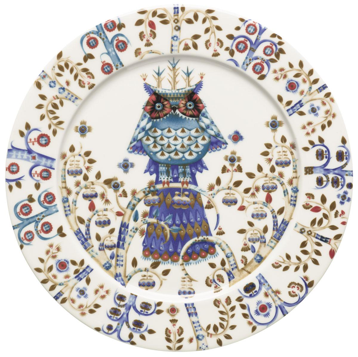 Тарелка Iittala Taika, цвет: белый, диаметр 27 см181040Тарелка Iittala Taika выполнена из качественного жароустойчивого прочного фарфора с долговечным стекловидным эмалевым покрытием.Идеально подойдет для сервировки стола и станет отличным подарком к любому празднику.