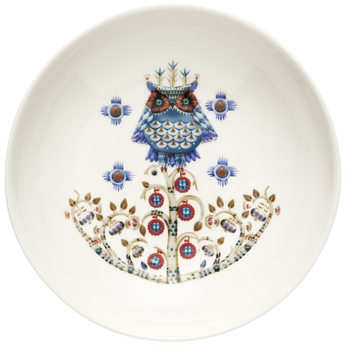 Тарелка глубокая Iittala Taika, цвет: белый, диаметр 20 см1011649