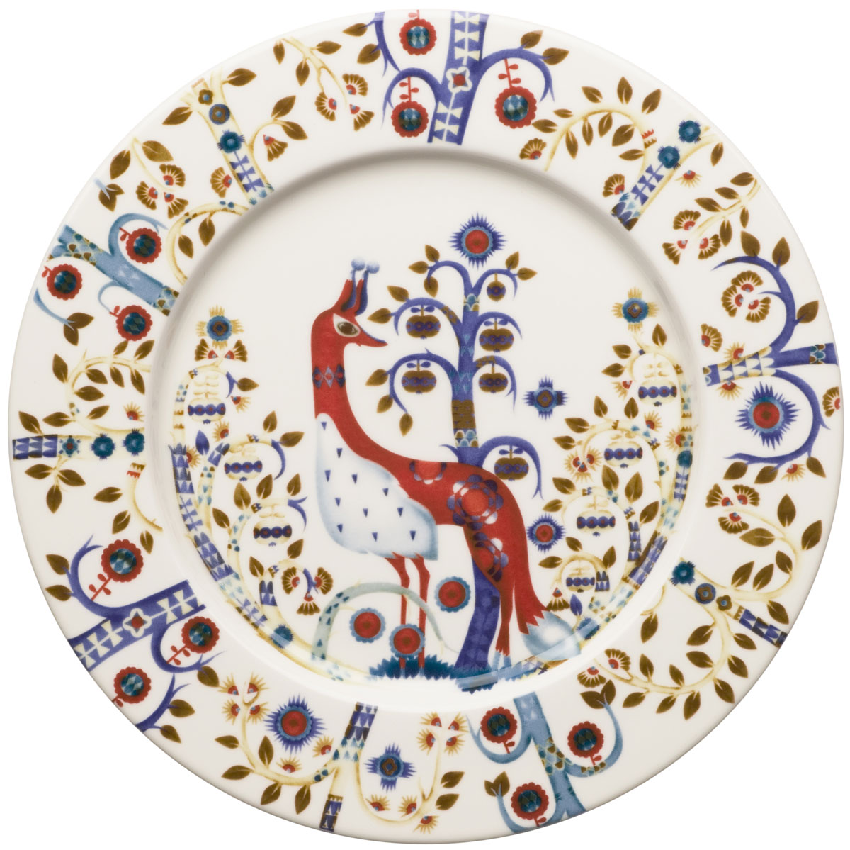 Тарелка Iittala Taika, цвет: белый, диаметр 22 см1012440