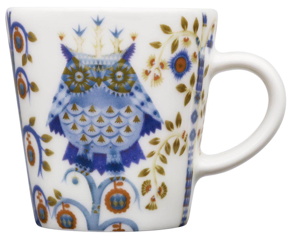Чашка кофейная Iittala Taika, 100 мл. 10124441012444Кофейная чашка Iittala Taika выполнена из качественного жароустойчивого прочного фарфора. Чашка имеет яркий дизайн, поэтому будетстильно выглядетьна любой кухне.Можно мыть в посудомоечной машине. Объем:: 100 мл.
