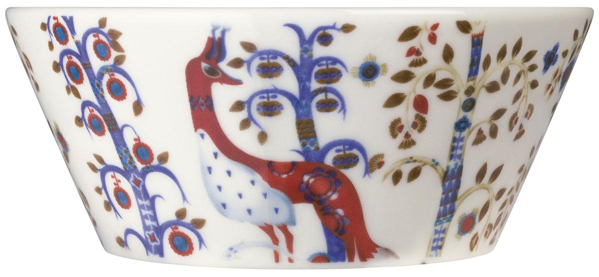 Чаша Iittala Taika, цвет: белый, синий, 300 мл1012454Чаша Iittala Taika выполнена из качественного жароустойчивого прочного фарфора. Чаша имеет стильный дизайн, поэтому сможет украсить любую кухню. Можно мыть в посудомоечной машине.Объем:: 300 мл.