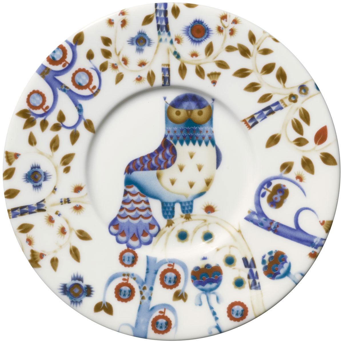 """Блюдце Iittala """"Taika"""" выполнено из качественного жароустойчивого прочного фарфора с долговечным стекловидным эмалевым покрытием.  Можно мыть в посудомоечной машине."""