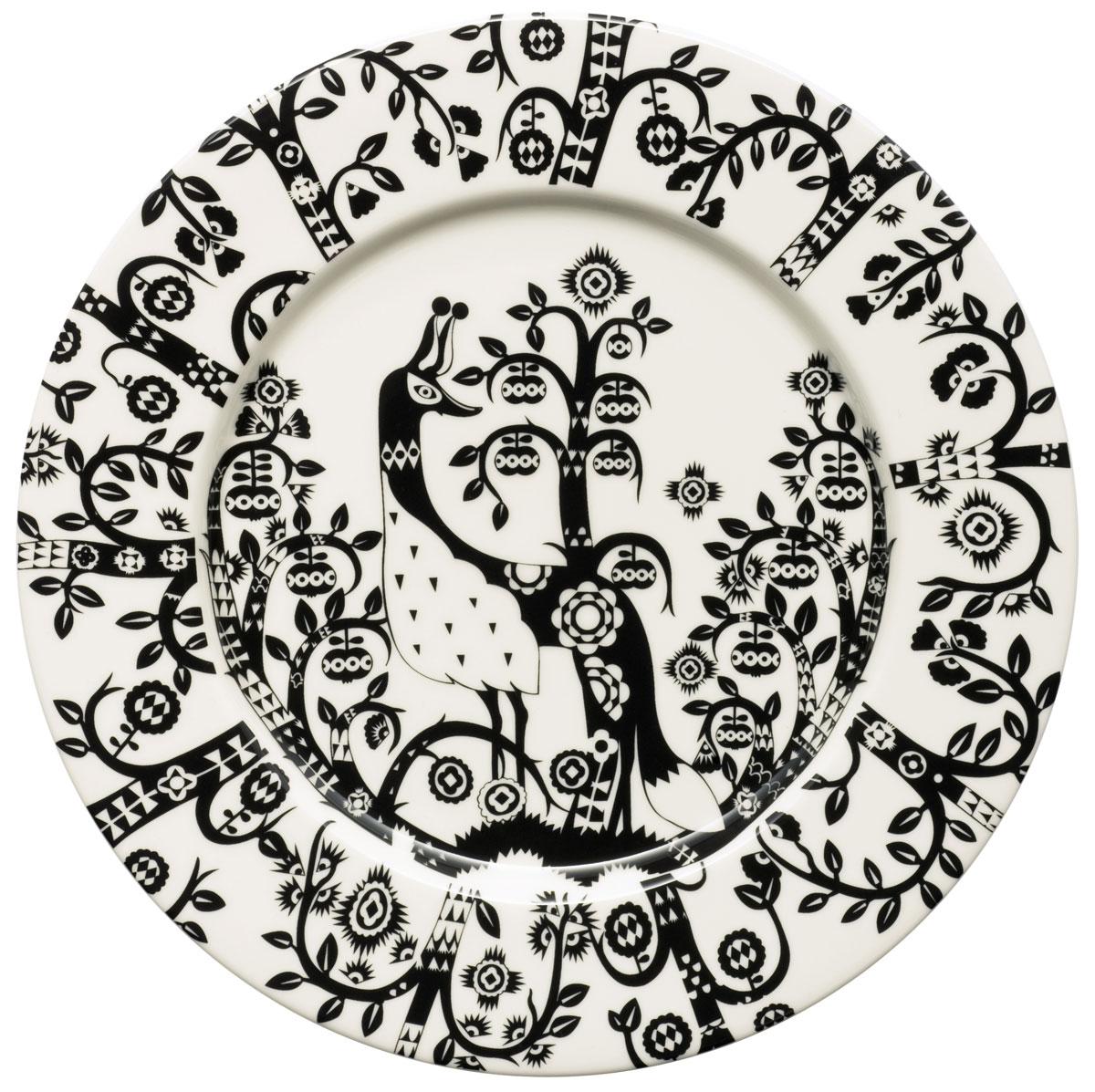 Тарелка Iittala Taika, цвет: черный, диаметр 22 см1012496Тарелка Iittala Taika выполнена из качественного жароустойчивого прочного фарфора с долговечным стекловидным эмалевым покрытием. Можно мыть в посудомоечной машине.Диаметр: 22 см.