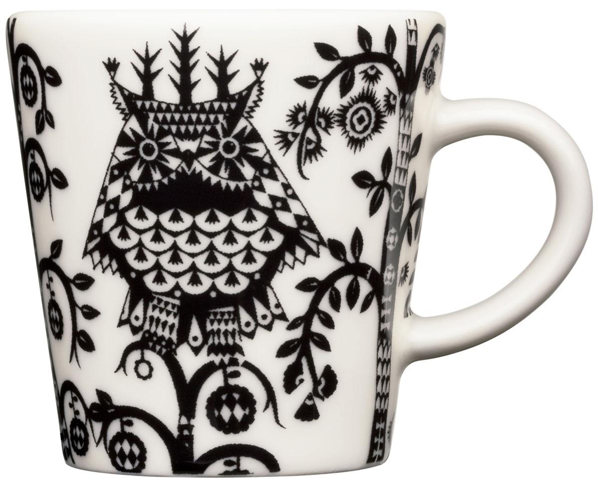 Чашка кофейная Iittala Taika, 100 мл. 10124981012498Кофейная чашка Iittala Taika выполнена из качественного жароустойчивого прочного фарфора. Чашка имеет яркий дизайн, поэтому будетстильно выглядетьна любой кухне.Можно мыть в посудомоечной машине. Объем:: 100 мл.