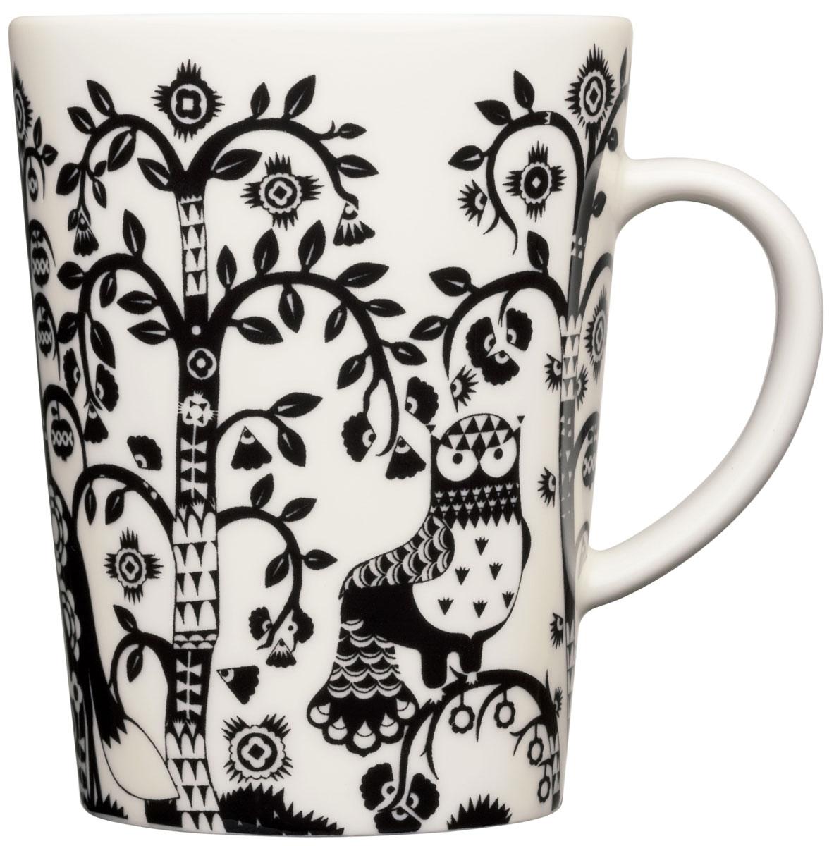 Чашка Iittala Taika, цвет: черный, 0,4 л1012500