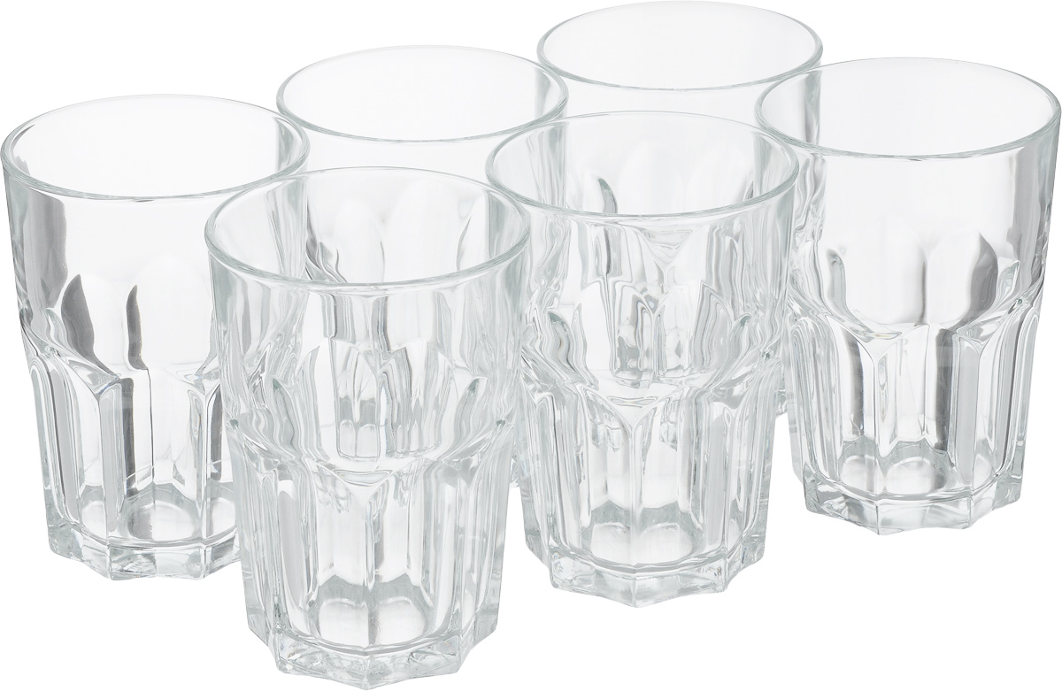 Набор стаканов Luminarc Новая Америка, 350 мл, 6 шт набор высоких стаканов luminarc new america
