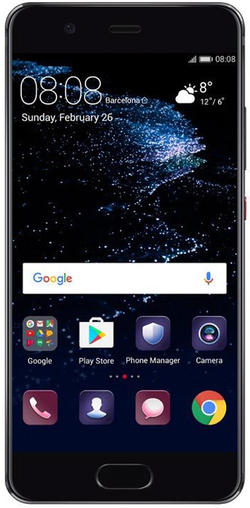 Huawei P10 Premium, Black - Смартфоны
