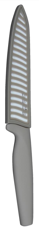 Нож универсальный Pomi d'Oro Organza Bianco, керамический, с чехлом, длина лезвия 15 см77.858@21279 / K1554B Organza BiancoНож Pomi dOro Organza Bianco изготовлен керамики Kerano. Kerano - это уникальный керамический нано-материал, который не содержит вредные примеси, в том числе перфоктановую кислоту (PTFE) и примеси, используемые для легированной стали. Материал изделия не вступает в реакцию с пищей во время готовки. Изделие имеет эргономичную обрезиненную ручку, которая не скользит в руках и делает резку удобной и безопасной. В комплекте прилагается чехол.