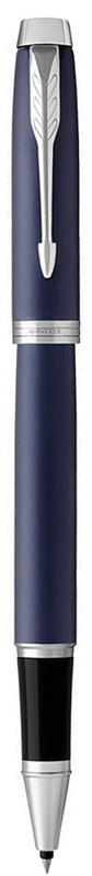 Parker Ручка-роллер IM Matte Blue CT1931661Марка Parker гарантирует полную уверенность в превосходном качестве товара. Ручка-роллер Parker IM Matte Blue CT будет не только долго служить, но и неизменно радовать удобством и легкостью письма, надежностью в эксплуатации и прекрасным эстетическим исполнением.Ручка-роллер Parker IM Matte Blue CT выполнена в корпусе, покрытом темно-синим матовым лаком, и имеет хромированную отделку деталей с полировкой. Форма ручки - круглая.Ручка-роллер Parker IM Matte Blue CT аккуратно упакована в выдвижной футляр.