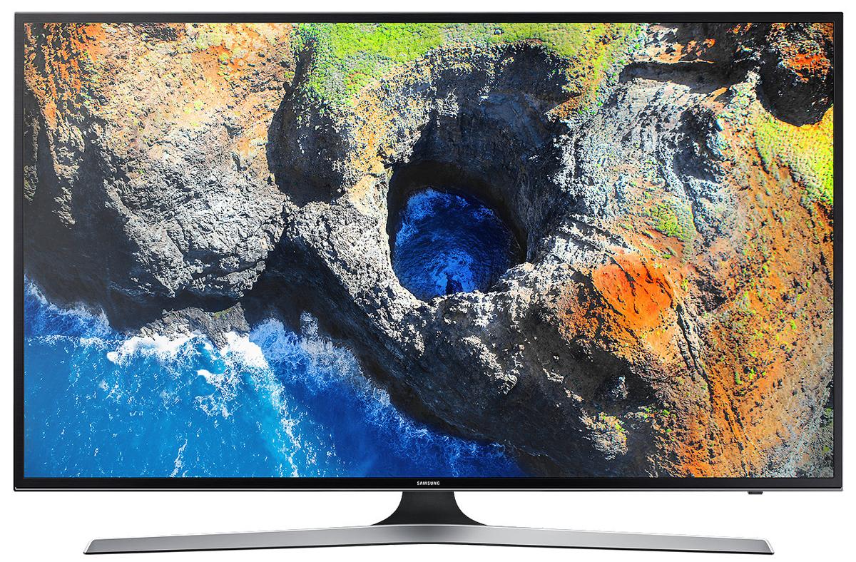 Samsung UE55MU6100 телевизорUE55MU6100UXRUОцените четкость передачи деталей на телевизоре Samsung UE55MU6100 с UHD разрешением, в 4 раза превосходящем разрешение Full HD. Откройте новый уровень качества изображения благодаря естественной цветопередаче и высокому уровню яркости.Функция Purcolour делает цвета более естественными. Погрузитесь в атмосферу ТВ развлечений и оцените, насколько точно и естественно отображаются цвета на экране.Изображение на экране как в реальной жизни. Благодаря более высокой яркости изображения, вы ощутите незабываемые впечатления от технологии расширения динамического диапазона HDR.Технология затемнения фрагментов экрана UHD Dimming делит экран на блоки, оптимизирует цвет, увеличивает контрастность для выявления деталей в самых темных и светлых участках изображения.Гладкая полированная текстура корпуса телевизора превращает его в изысканный предмет интерьера в любом месте вашего дома.Полный контроль над системой развлечений в ваших руках. Управляйте всеми устройствами, подключенными к телевизору при помощи универсального пульта ДУ. Переключайте каналы голосом.Просто подключите ваше мобильное устройство к телевизору и просматривайте контент на большом экране. С помощью приложения Smart View вы сможете управлять всей системой с экрана мобильного устройства.Теперь все в одном месте. Весь контент теперь находится на одном экране. Легко выбирайте контент-провайдеров и используйте окно предпросмотра перед выбором контента.Легкий поиск и распознавание подключенных устройств. Телевизор Samsung автоматически отображает наименования подключенных устройств и делает их выбор интуитивно понятным.