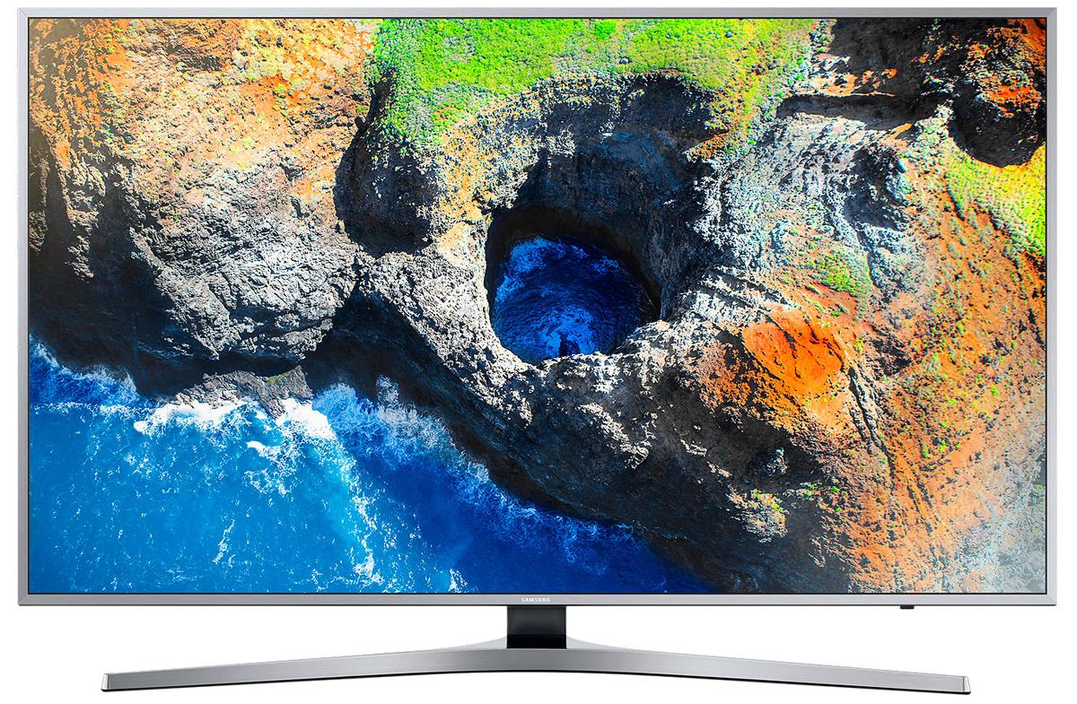 Samsung UE49MU6400 телевизорUE49MU6400UXRUИзображение на экране телевизора Samsung UE49MU6400 оживает благодаря невероятно естественной цветопередаче с технологией Active Crystal Сolour. Более богатая цветовая палитра - больше деталей, меньше потребление электроэнергии.Детали на экране, как в реальном мире. Испытайте незабываемые впечатления с технологией расширения динамического диапазона HDR благодаря более высокому уровню яркости.Оцените четкость передачи деталей с UHD разрешением, в 4 раза превосходящем разрешение Full HD. Откройте новый уровень качества изображения благодаря естественной цветопередаче и высокому уровню яркости.Технология затемнения фрагментов экрана UHD Dimming делит экран на блоки, оптимизирует цвет, увеличивает контрастность для выявления деталей в самых темных и светлых участках изображения.Совершенство с любой стороны. Независимо от того, выключен или включен ваш телевизор, перед вами изысканный предмет интерьера с ультратонкой рамкой и гладкой задней панелью.Гладкая полированная текстура корпуса телевизора превращает его в изысканный предмет интерьера в любом месте вашего дома.Полный контроль над системой развлечений в ваших руках. Управляйте всеми устройствами, подключенными к телевизору при помощи универсального пульта ДУ. Переключайте каналы голосом.Просто подключите ваше мобильное устройство к телевизору и просматривайте контент на большом экране. С помощью приложения Smart View вы сможете управлять всей системой с экрана мобильного устройства.Теперь все в одном месте. Весь контент теперь находится на одном экране. Легко выбирайте контент-провайдеров и используйте окно предпросмотра перед выбором контента.Легкий поиск и распознавание подключенных устройств. Телевизор Samsung автоматически отображает наименования подключенных устройств и делает их выбор интуитивно понятным.