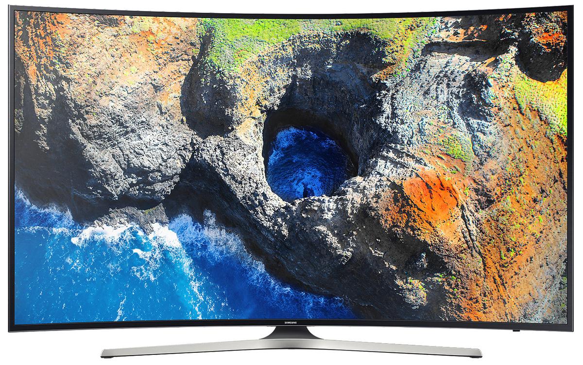 Samsung UE55MU6300 телевизорUE55MU6300UXRUОцените четкость передачи деталей на телевизоре Samsung UE55MU6300 с UHD разрешением, в 4 раза превосходящем разрешение Full HD. Откройте новый уровень качества изображения благодаря естественной цветопередаче и высокому уровню яркости.Функция Purcolour делает цвета более естественными. Погрузитесь в атмосферу ТВ развлечений и оцените, насколько точно и естественно отображаются цвета на экране.Изображение на экране как в реальной жизни. Благодаря более высокой яркости изображения, вы ощутите незабываемые впечатления от технологии расширения динамического диапазона HDR.Функция Auto Depth Enhancer меняет контрастность отдельных участков изображения, создавая эффект пространственной глубины. Оцените реальный эффект погружения в происходящее на экране.Оцените красоту изогнутого дизайна. Плавные контуры, позаимствованные у природы, превращают телевизор в образец элегантности независимо от того, включен он или выключен.Полный контроль над системой развлечений в ваших руках. Управляйте всеми устройствами, подключенными к телевизору при помощи универсального пульта ДУ. Переключайте каналы голосом.Просто подключите ваше мобильное устройство к телевизору и просматривайте контент на большом экране. С помощью приложения Smart View вы сможете управлять всей системой с экрана мобильного устройства.Теперь все в одном месте. Весь контент теперь находится на одном экране. Легко выбирайте контент-провайдеров и используйте окно предпросмотра перед выбором контента.Легкий поиск и распознавание подключенных устройств. Телевизор Samsung автоматически отображает наименования подключенных устройств и делает их выбор интуитивно понятным.