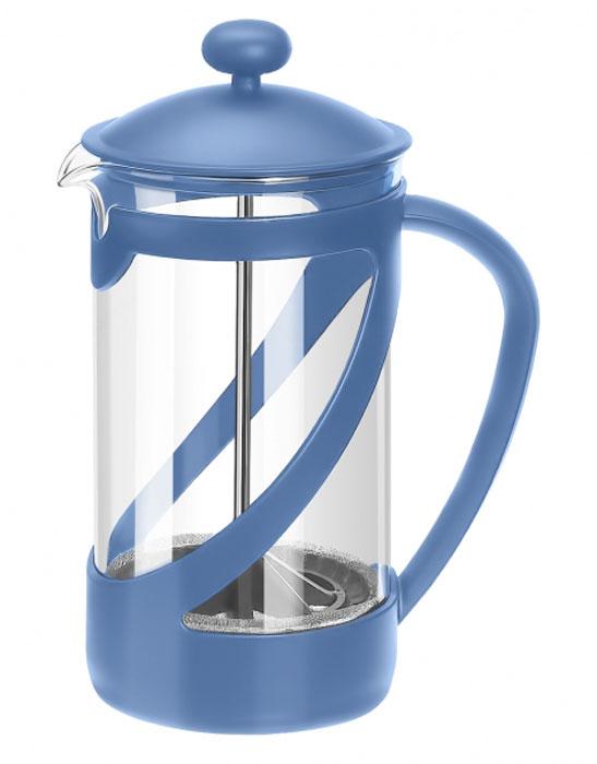Френч-пресс Attribute Basic Color, цвет: синий, 350 млATT351_синийФренч-пресс Attribute Basic Color позволит быстро и просто приготовить свежий и ароматный кофе иличай. Цветовая гамма подойдет даже для самого яркого интерьера. Френч-пресс изготовлен извысокотехнологичных материалов на современном оборудовании:- корпус изготовлен из высококачественного жаропрочного стекла, устойчивого к окрашиванию ицарапинам;- фильтр-поршень из нержавеющей стали выполнен по технологии press-up для обеспеченияравномерной циркуляции воды;- яркая подставка из пластика препятствует скольжению френч-пресса.Практичный и стильный дизайн френч-пресса Attribute Basic Color полностью соответствуетпоследним модным тенденциям в создании предметов бытового назначения.