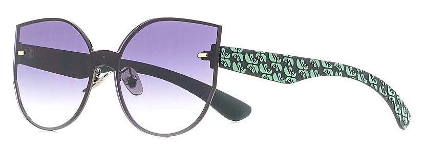 Очки солнцезащитные женские Vitta pelle, цвет: черный. 1301-2017-839