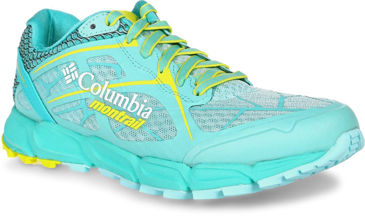Кроссовки женские Columbia Caldorado, цвет: бирюзовый. 1747191-307. Размер 7 (37,5)1747191-307Легкие женские кроссовки Caldorado от Columbia прекрасно подойдут для занятий спортом и активного отдыха. В комфортных кроссовках Caldorado вам обеспечено идеальное сочетание поддержки, амортизации и сцепления с поверхностями.Верх модели выполнен из текстильной сетки с вшитым язычком, что гарантирует отличную посадку по ноге. Предусмотрена защита мыска и усиленный бампер. Модель фиксируется на ноге шнуровкой. Анатомическая стелька исполнена из мягкого ЭВА-материала с текстильной поверхностью. Подкладка из полиэстера обеспечит сухость и комфорт. Промежуточная подошва, выполненная из материала Techlite, обеспечивает отличную амортизацию и поддержку. Запатентованная технологияFluid GUIDE улучшает стабильность стопы и обеспечивает плавность хода. Полноразмерная резиновая подметка. Пластина Trail SHIELD защищает стопу от ударов, при этомсохраняется отличная гибкость благодаря специальным канавкам в носочной части. Разнонаправленный рисунокпротектора обеспечивает хорошее сцепление на разных рельефах.Кроссовки Columbia Coldorado - это идеальный выбор для бега по пересеченной местности.