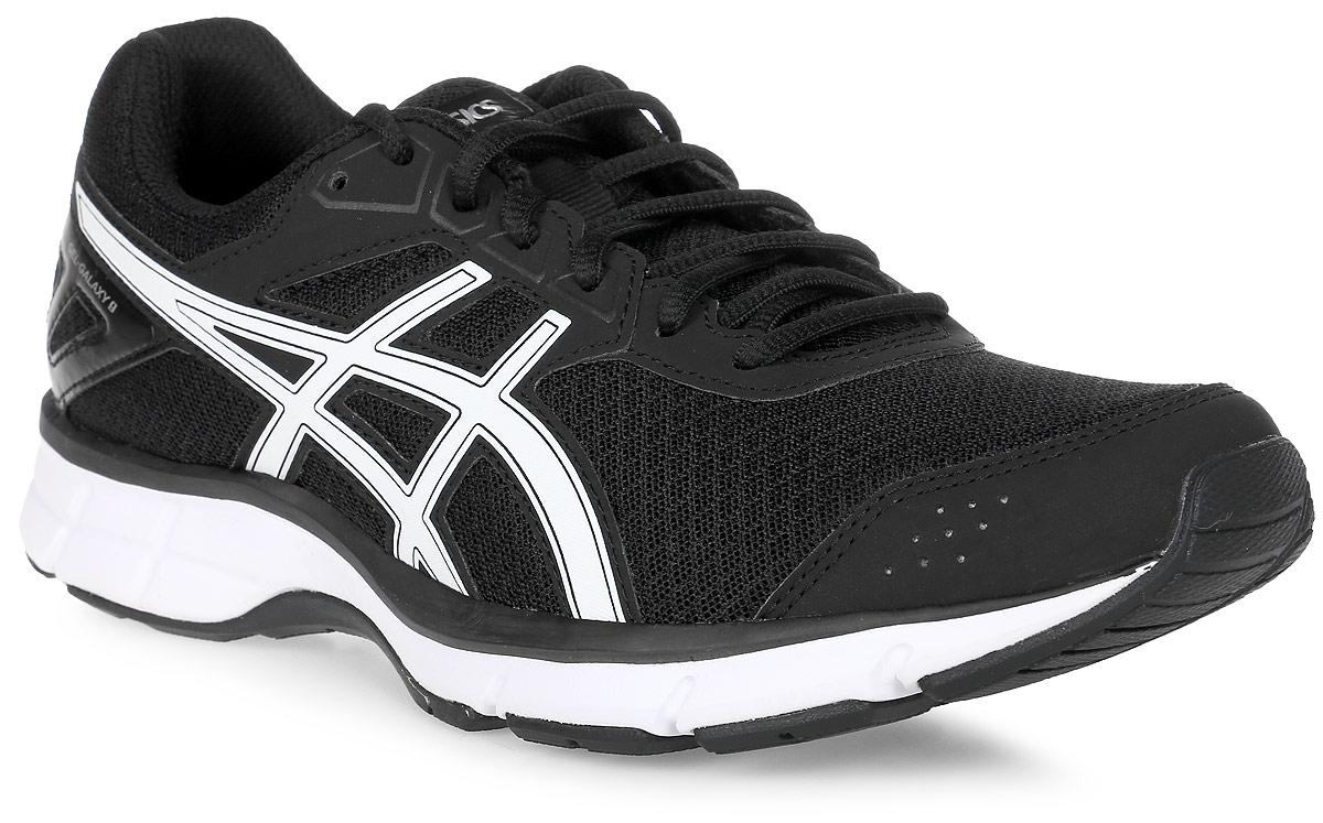 Кроссовки для бега женские Asics Gel-Galaxy 9, цвет: черный. T6G5N-9001. Размер 7 (36,5) кроссовки asics кроссовки gel fortitude 7 2e