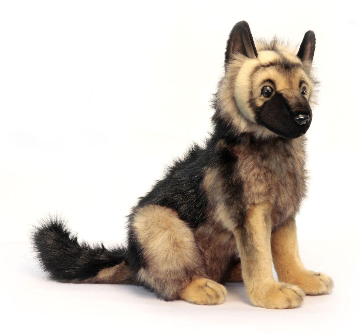 Hansa Мягкая игрушка Щенок немецкой овчарки 41 см hansa мягкая игрушка щенок немецкой овчарки