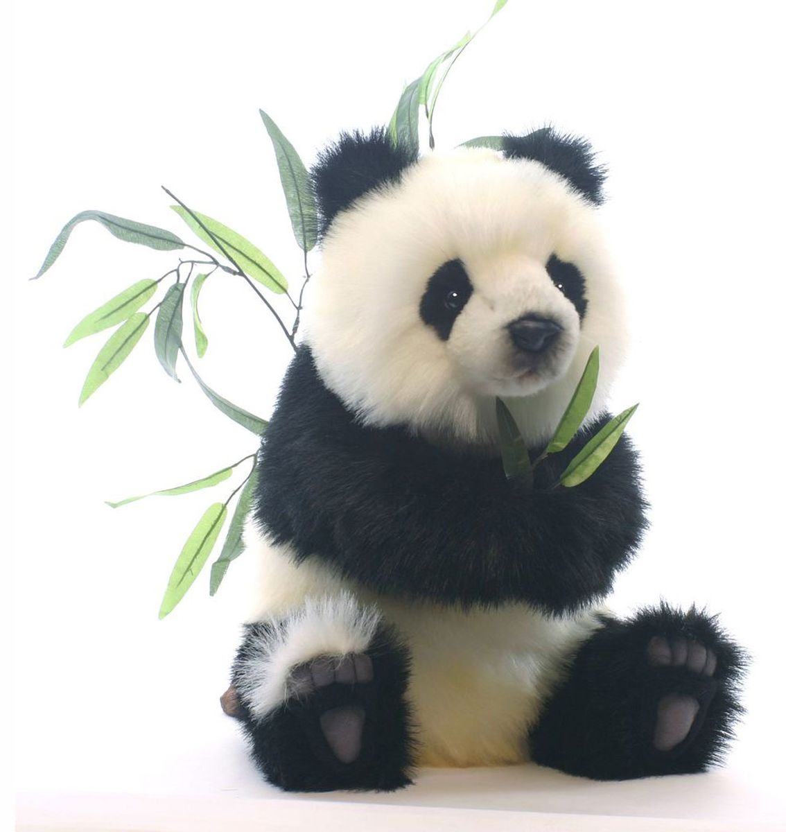 Hansa Мягкая игрушка Детеныш панды, сидящий 41 см