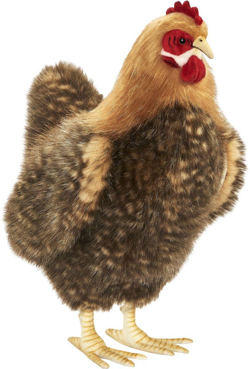 Hansa Мягкая игрушка Курица палевая 35 см - Мягкие игрушки