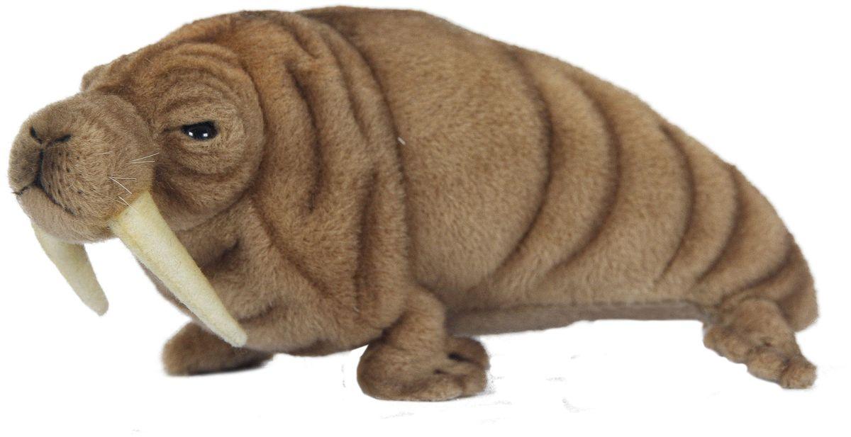 Hansa Мягкая игрушка Морж 26 см развивающие игрушки tolo toys морж