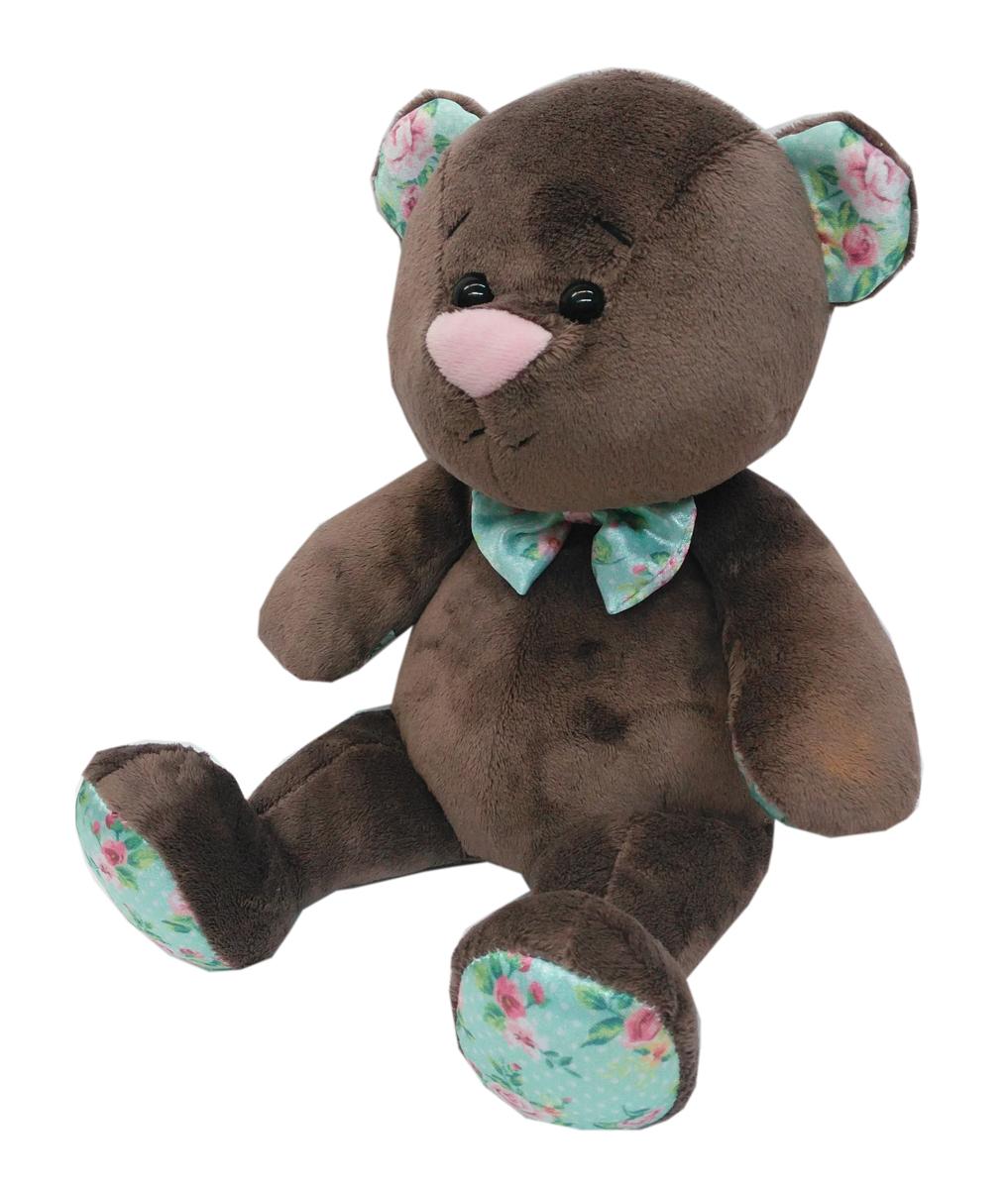 СмолТойс Мягкая игрушка Медвежонок Тедди 30 см смолтойс мягкая игрушка зайка даша цвет салатовый 41 см