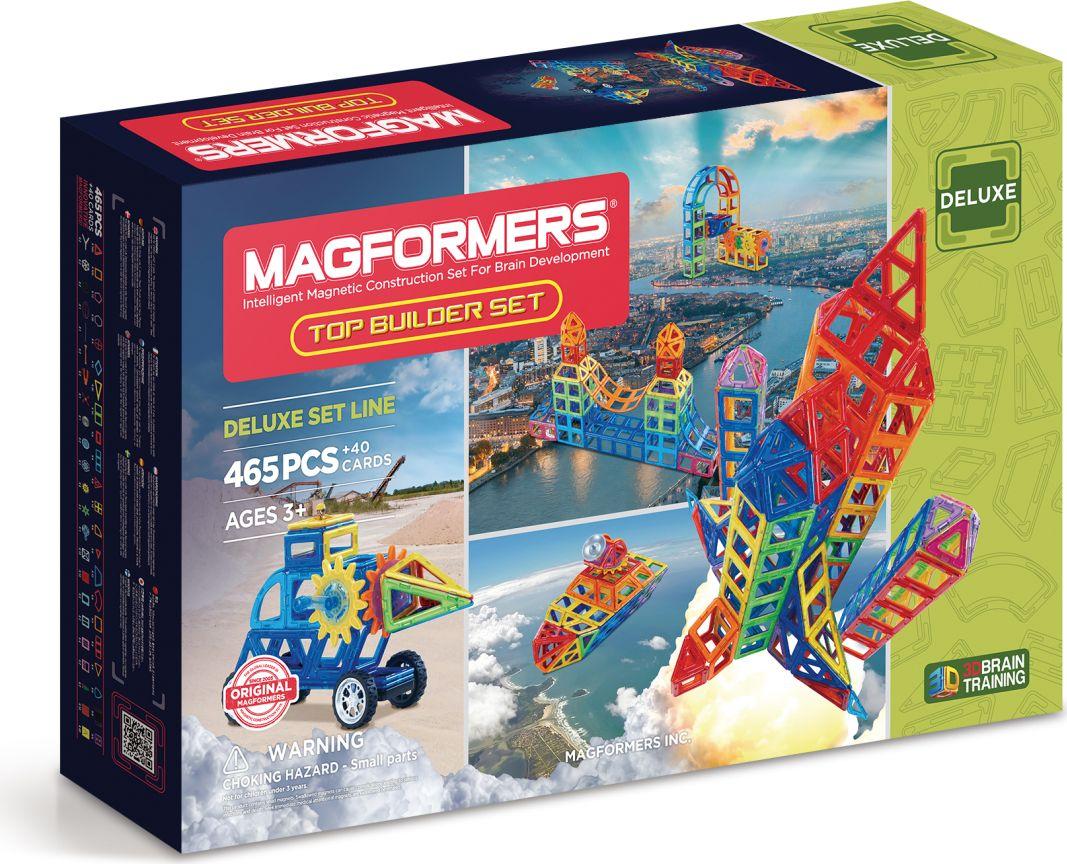 Magformers Магнитный конструктор Top Builder Set ubtech робот конструктор jimu inventor