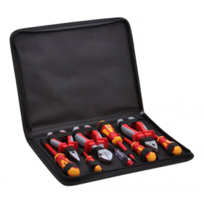 Набор диэлектрического инструмента КВТ НИИ-09, с чехлом, 7 предметов
