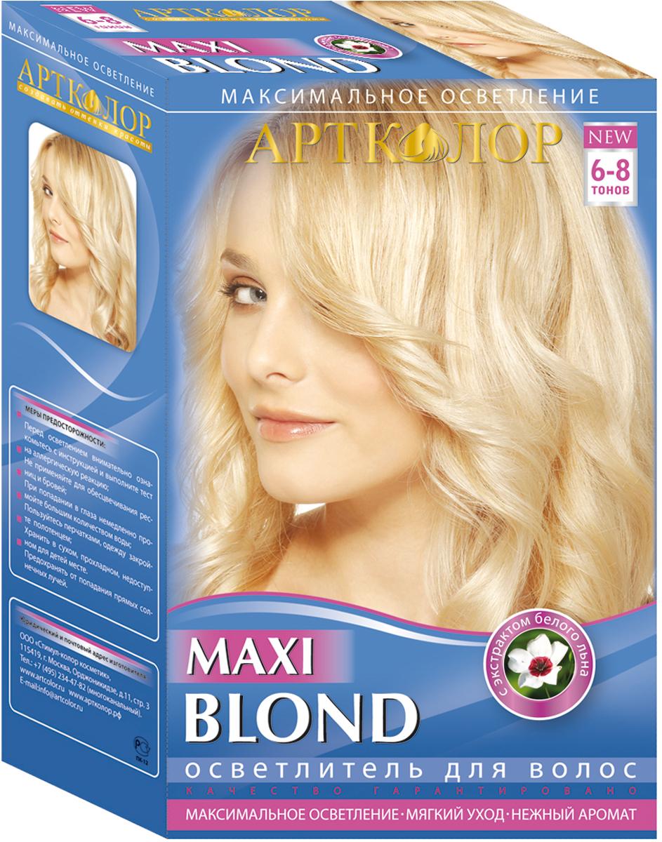 Артколор Maxi Blond осветлитель для волос с экстрактом белого льна, 30г/60 мл30004Осветлитель для волос Maxi blond - это максимальное осветление волос до 6-7 тонов.Идеален для максимального осветления волос перед их последующим тонированием. Формула краски обогащена экстрактами из семян льна, придавая волосам чистый цвет.Высокое качество и высокая степень осветления!Эффекты: осветленные летним солнцем волосы или светлые модные прядки!Одна упаковка – до 2-х процедур осветления!Качественное осветление волос без повреждения их структуры!