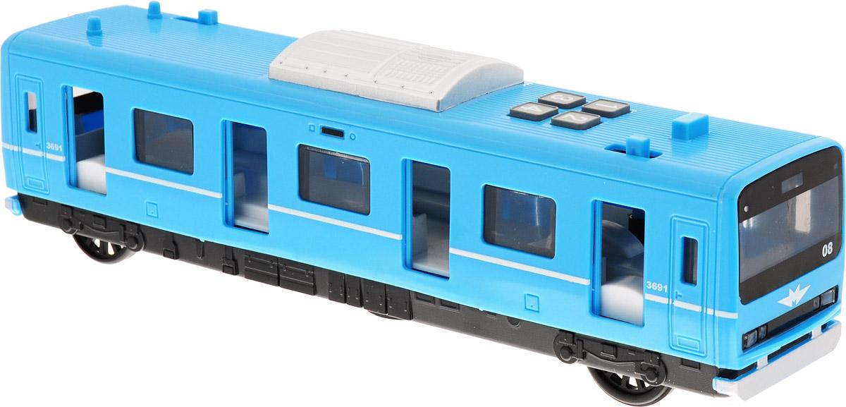 ТехноПарк Инерционный вагон метро - Железные дороги