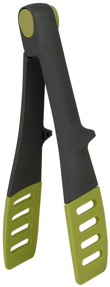Щипцы сервировочные Calve, длина 23 см. CL-1365CL-1365Сервировочные щипцы Calve выполнены из нейлона. Ими удобно сервировать тарелку приготовленными продуктами. Щипцы снабжены резиновыми вставками для удобного и надежного хвата. Изделие безопасно для посуды с антипригарным покрытием.Термостойкость до 210 градусов.