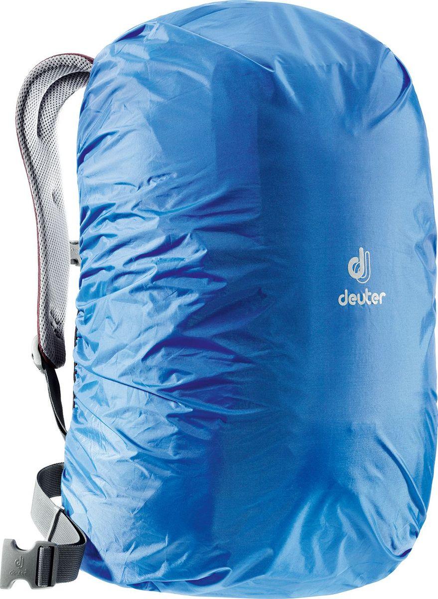 Чехол от дождя Deuter Raincover Mini, цвет: лазурный, 12-22 л39500_3013Чехол от дождя Deuter Raincover Mini яркого неонового цвета гарантируют, что ваш рюкзак и его содержимое останется сухим даже после проливного дождя. Отличная влагозащита благодаря полиуретановому покрытию и швам, проклеенным лентой. Светоотражающий логотип повышает безопасность на дорогах.Материал: Taffeta-NylonВес: 65 г.Объем: 12-22 л.Размеры: 48 х 42 х 12 см.