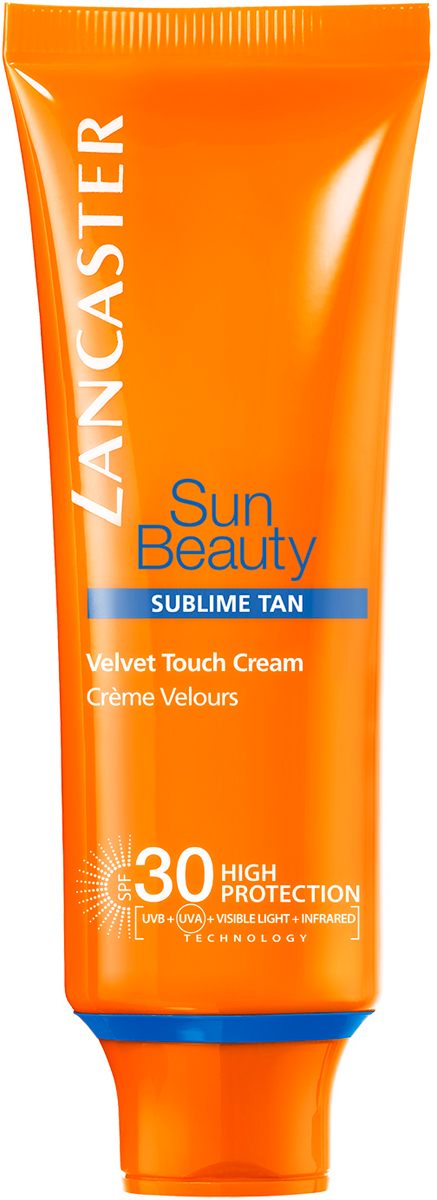 Lancaster Sun Beauty Care Крем нежный Сияющий загар spf 30, 50 мл lancaster sun beauty care шелковистое масло быстрый загар spf 30 150 мл