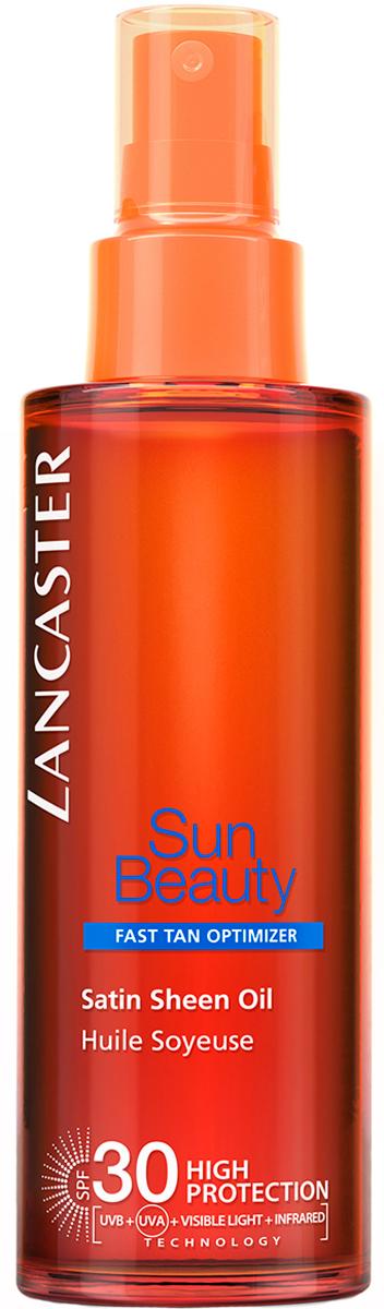 Lancaster Sun Beauty Care Шелковистое масло Быстрый загар spf 30, 150 мл6963Моментальный интенсивный загар. Благодаря более совершенной защите кожа выглядит великолепно, она насыщается питательными веществами и становится более эластичной. Загар быстрый, интенсивный и безупречный