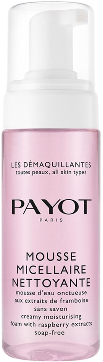 Payot Les Demaquillantes Пенка очищающая мицеллярная для всех типов кожи, 150 мл65108269Очищающая мицеллярная пенка для всех типов кожи деликатно очищает кожу благодаря формуле, не содержащей мыла. Тщательно удаляет все загрязнения, скопившиеся в течение дня, добавляет сияния и свежести коже. Восстанавливает биологический баланс кожи, сохраняя ее молодость.