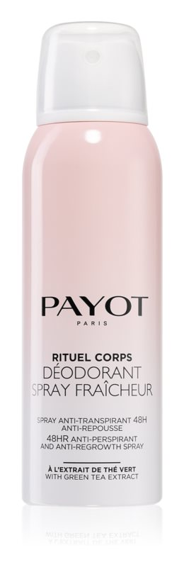 Payot Corps Освежающий антиперспирант 48 – часового действия, замедляющий рост волос, 125 мл дезодоранты payot дезодорант спрей 125мл