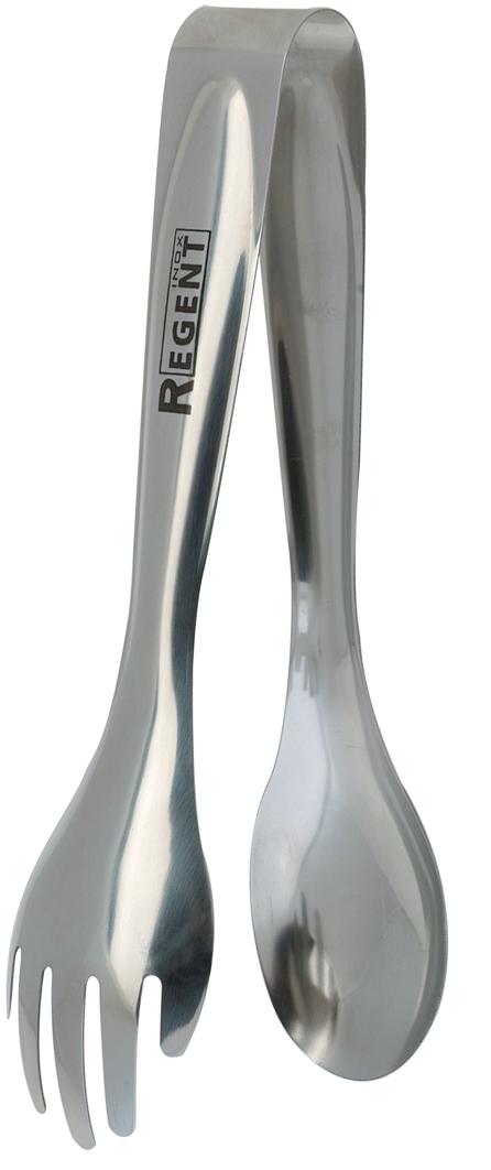 Щипцы сервировочные Regent Inox Presto, длина 21 см93-AC-TN-03Щипцы Regent Inox Presto изготовлены из высококачественной нержавеющей стали с зеркальной полировкой. Щипцы предназначены для сервировки спагетти или салата. Эксклюзивный дизайн и внимание к каждой детали сделают этот прибор изысканным дополнением к коллекции кухонных аксессуаров. Длина щипцов: 21 см.