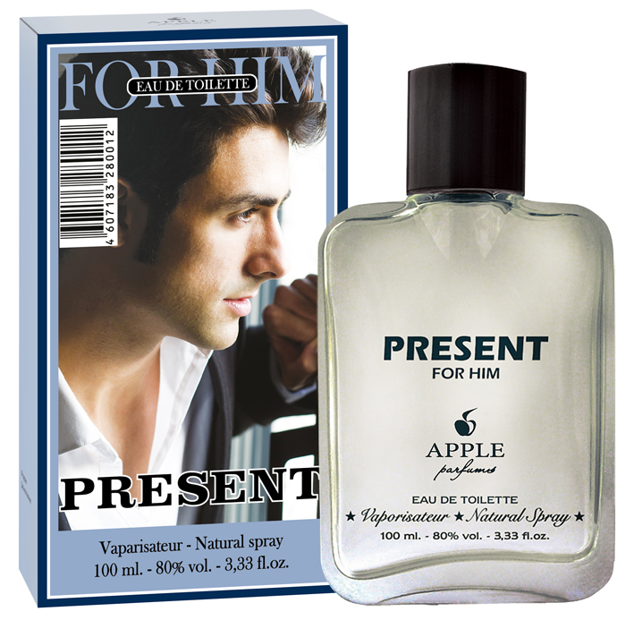 Apple Parfums Туалетная вода Univers New Present for HIM мужская 100ml туалетная вода apple parfums эппл пур хомме джаст силвер apple homme just silver