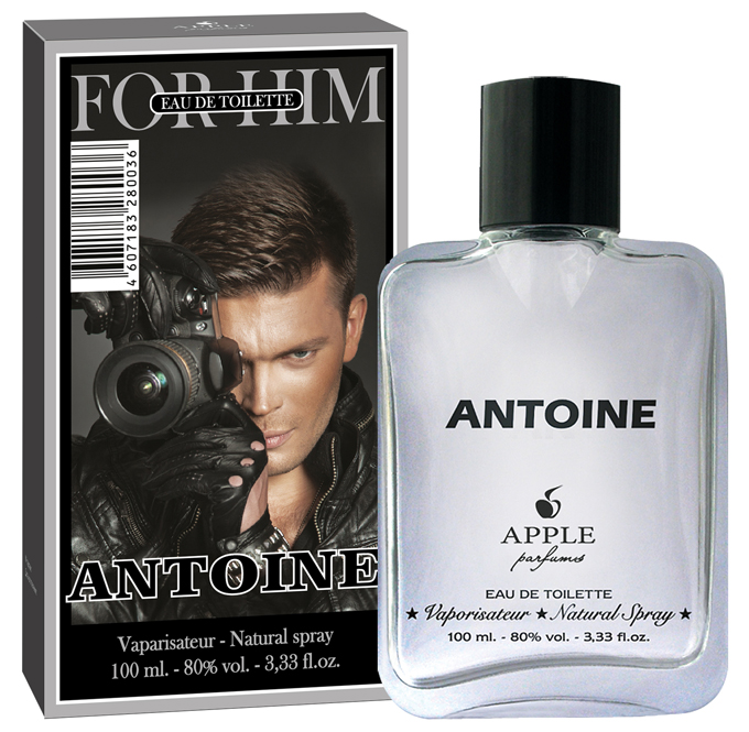 Apple Parfums Туалетная вода Univers New Antoine мужская 100ml40585Начальные ноты:бергамот, мандарин, грейпфрут. Ноты сердца:кардамон, перец. Базовые ноты:ветивер, кедр