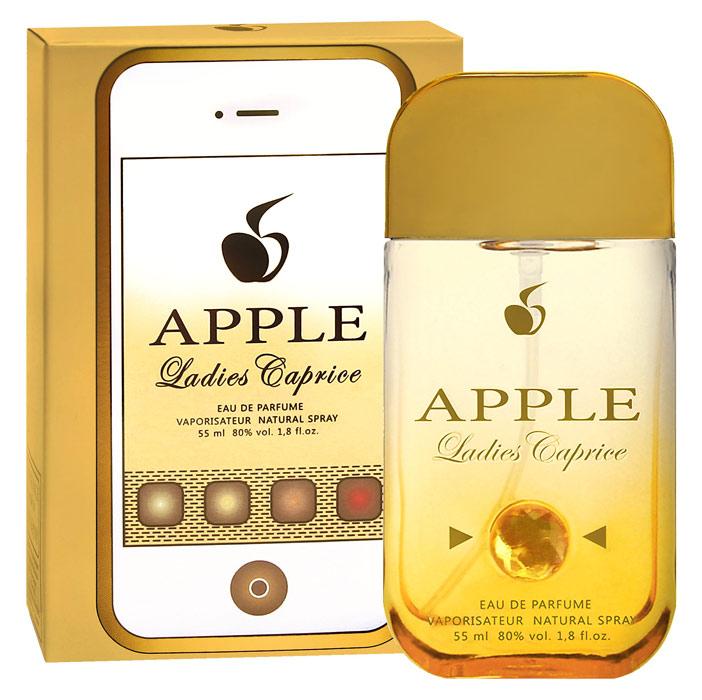 Apple Parfums Туалетная вода Apple Ladies Caprice женская 55ml43221Начальные ноты: нероли, цитрусы, малина. Ноты сердца: жасмин, гардения, цветы апельсина. Базовые ноты: амбра, пачули, мёд