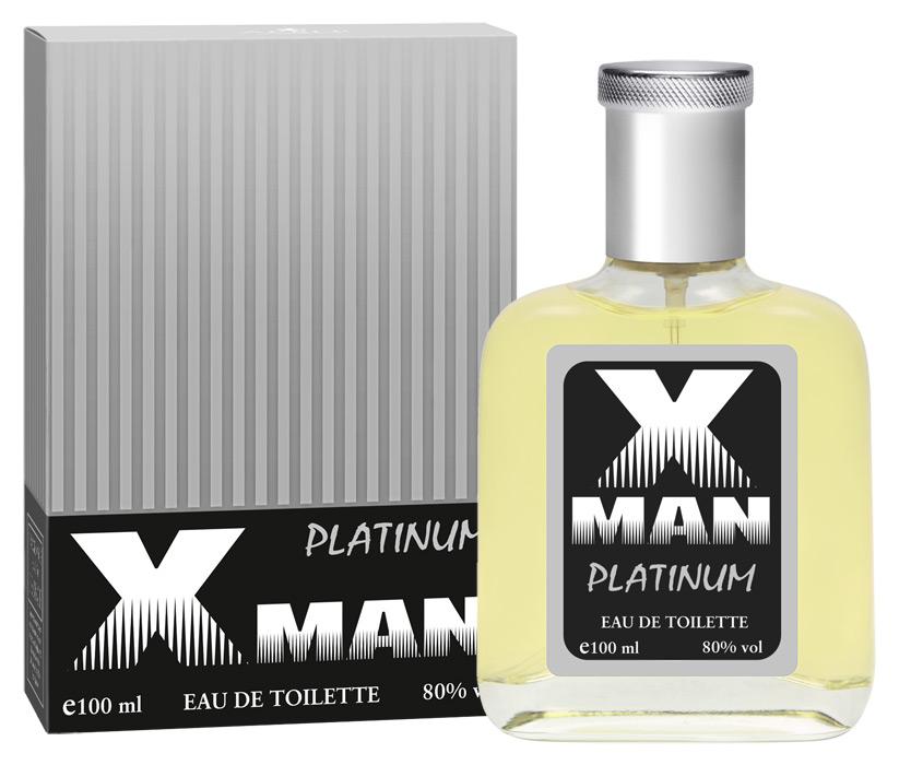 Apple Parfums Туалетная вода X Man Platinum мужская 100ml туалетная вода apple parfums эппл пур хомме джаст силвер apple homme just silver