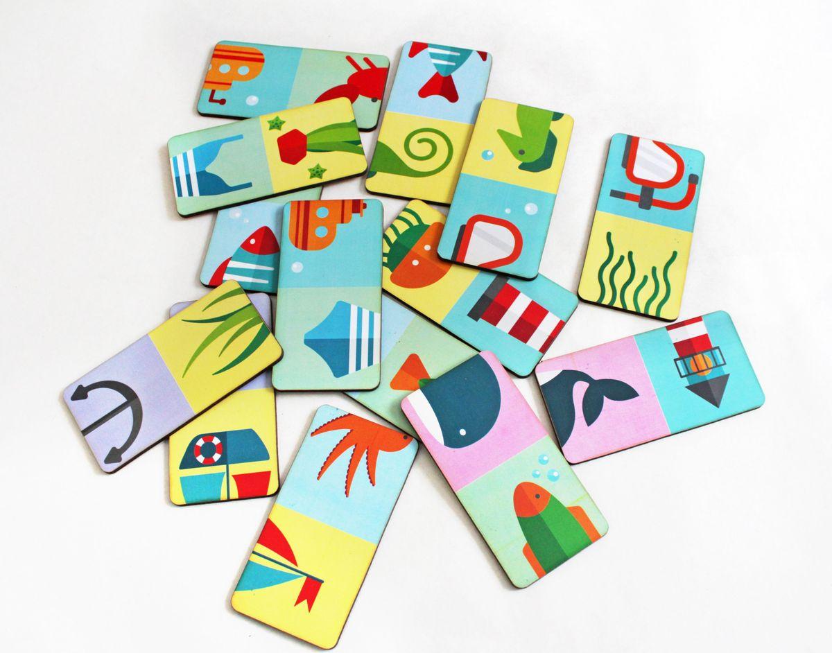 Игрушки Тимбергрупп Домино Морское логические игрушки
