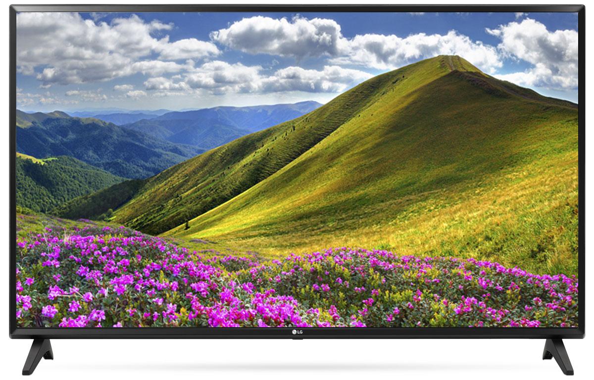 LG 43LJ594V телевизор90000004352С LG LG 43LJ594V вы можете воспроизводить фильмы, музыку и фото максимально удобным способом - прямо с USB-флэшки или жесткого диска.Телевизор оснащен портами HDMI - для максимального качества звука и картинки. HDMI - это мультимедийный интерфейс высокой четкости. Единый стандарт HDMI позволяет получать новому телевизору LG максимально четкий аудио и видеосигнал.Современный пульт Magic Remote и обновлённый интерфейс webOS 3.5 создают максимальный комфорт для погружения в новый яркий мир: самое время окунуться в интригующий сюжет.По-новому глубокие и насыщенные цвета. Помимо улучшения цветопередачи, уникальные технологии обработки изображения отвечают за регулировку тона, насыщенности и яркости.Революционное качество изображения и цвета. Разрешение Full HD 1080p отвечает стандартам высокой четкости, отображая на экране 1080 (прогрессивных) линий разрешения, для более четкого и детального изображения.Улучшить изображение? Запросто! При использовании механизма масштабирования разрешения Resolution Upscaler изображения любого качества выглядят существенно лучше.Звук, который волнует. Технология Virtual Surround Plus создает у зрителя ощущение, будто звук льется со всех сторон. Благодаря эффекту присутствия, кажется, что ты в толпе на выступлении любимой группы или в студии звукозаписи.