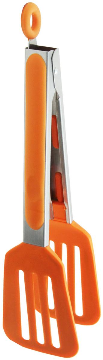 Щипцы кулинарные Borner Trend, цвет: оранжевый861077Характеристики:Серия Trend - это:- термостойкие;- гигиеничные;- долговечные;- эргономичные;- эстетичные;- стильные;- безопасные для здоровьяаксессуары для кухни, которые станут вашими любимыми помощниками на долгие годы.Все предметы выполнены из современного экологичного материала – силикона, который выдерживает температуру до +240°С. Вы сможете смело использовать любой из этих аксессуаров даже в кипящем фритюре.Силикон не впитывает посторонние запахи, обладает грязеотталкивающими свойствами. Он не повредит антипригарное покрытие кастрюль и сковородок и прослужит очень долго.Это не только функциональные, но и очень элегантные аксессуары, которые украсят любую кухню.Рабочие поверхности изготовлены по особой технологии: цвет силикона плавно переходит от насыщенного к полупрозрачному.Описание:Кулинарные щипцы просто незаменимы! Перевернуть котлету на сковороде, достать кусок отварного мяса из бульона или горячий пирожок из духовки, переложить на тарелку торт или выловить огурец из банки, - все это удобно делать кулинарными щипцами.