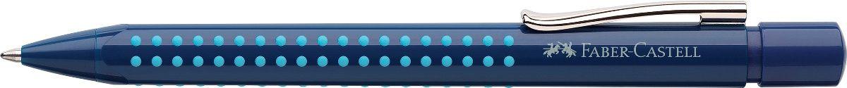 Faber-Castell Ручка шариковая Grip 2010 цвет корпуса синий243902Шариковая ручка Faber-Castell Grip 2010 эргономичной трехгранной формы станет незаменимым атрибутом учебы или работы. Прозрачныйкорпус ручки выполнен из пластика и соответствует цвету чернил. Запатентованная антискользящая зона захвата дополнена малымимассажными шашечками.Высококачественные чернила позволяют добиться идеальной плавности письма. Ручка оснащена упругим клипомдля удобной фиксации на бумаге или одежде. Особенности:наконечник и выдвижной колпачок наконечника из металласистема, предотвращающая поломку грифеляоптимальная толщина грифеля 0,7 ммкачественный, длинный, выдвижной ластик, защищенный колпачкомсистема автоматической подачи грифеля