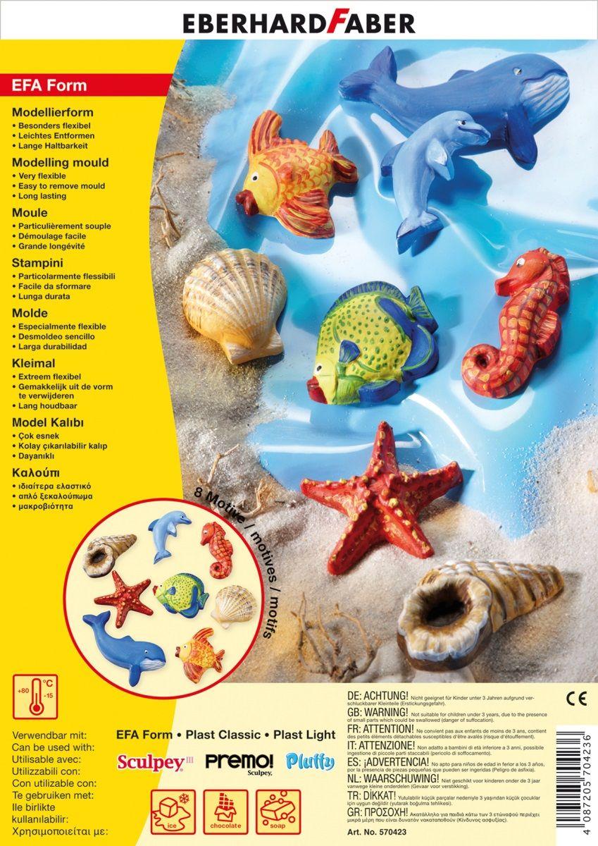 Eberhard Faber Набор формочек для лепки Мир Моря570423