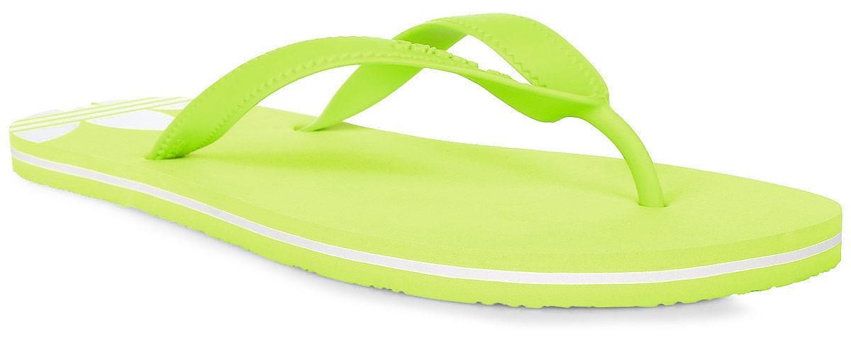 Сланцы женские adidas Adisun W, цвет: желтый. BB5107. Размер 5 (37)BB5107Минималистский дизайн для максимально летнего стиля. Лаконичные женские сланцы для солнечной погоды. Контрастный трилистник на пятке с декоративными вырезами подчеркивает аутентичность образа adidas Originals. Ремешки из термополиуритана, гибкая подошва из ЭВА.
