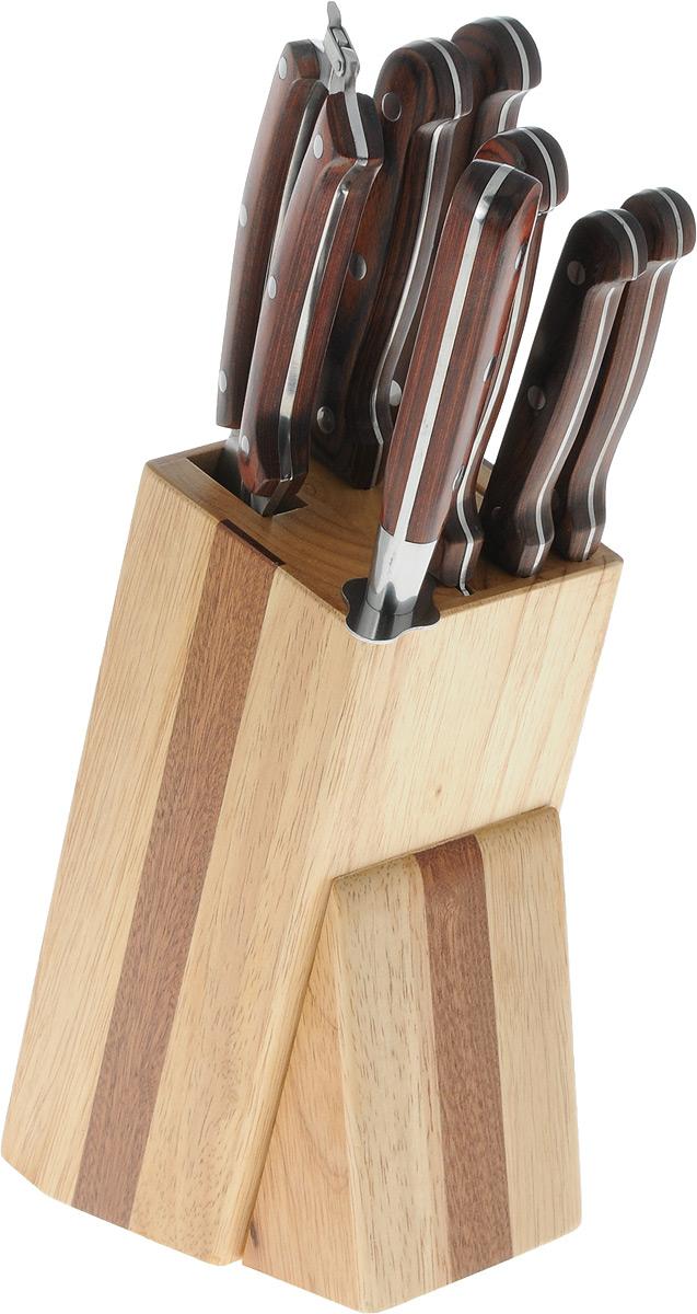 Набор ножей Marvel Rose Wood Original, на подставке, 8 предметов. 85026 точилки для ножей marvel точилка для ножей