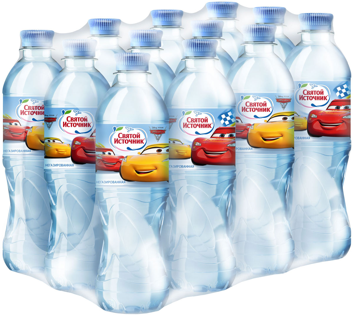 Святой Источник Тачки вода питьевая негазированная, 12 шт по 0,5 л4603934001523Питьевая негазированная вода Святой Источник из заповедного сердца природы, артезианская высшей категории для детей от 3-х лет в игровой упаковке. Добывается из артезианских скважин; содержит полезные микроэлементы, необходимые для активного роста и гармоничного развития ребенка; уникальная бутылка в игровой упаковке с героями команды Мстители. Благодаря особой и удобной форме и любимым героям бутылка будет всегда под рукой у ребенка: в школе, на прогулке, во время игры.