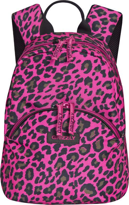 Grizzly Рюкзак дошкольный цвет фуксия RS-756-5/3 grizzly рюкзак дошкольный цвет черный rs 734 3 4
